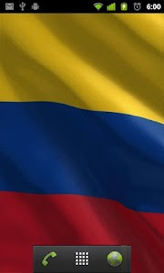 colombian flag wallpaper screenshot 1