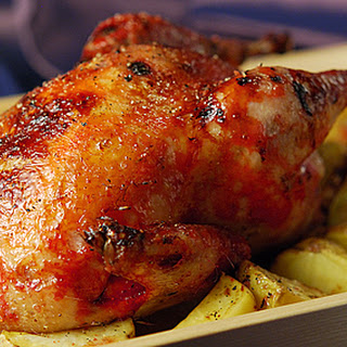 Glazed Roast Pheasant