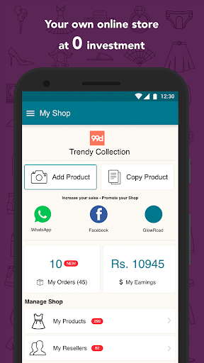 724005f8bd9 ... GlowRoad  Earn from Home by Reselling screenshot 5