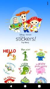 Pixar Stickers: Toy Story 6