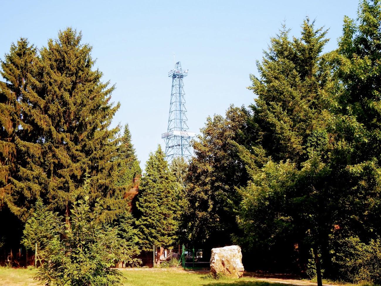 Zalaegerszeg/Falumúzeum, fúrótorony - helyi URH-FM adóállomás