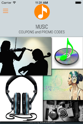 Music Coupons - I'm In