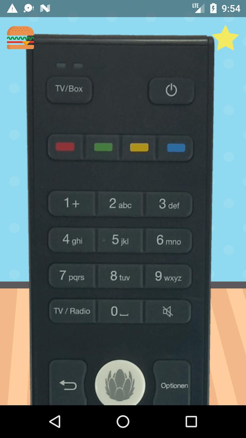 Скриншот Удаленное управление для Unitymedia KabelBW