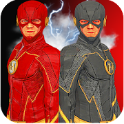 Multi Flash Speed Hero:Black Flash Vs Super Flash
