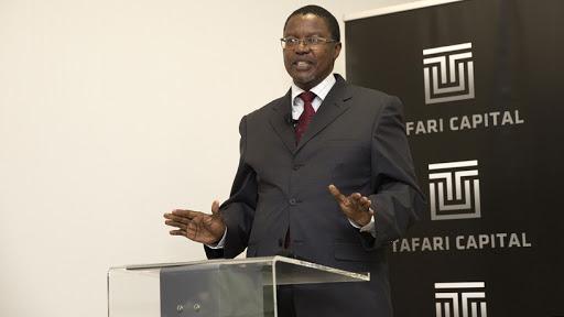 Dr Thabo Lehlokoe, executive chairman of Tafari Capital.