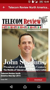 Telecom Review North America- screenshot thumbnail