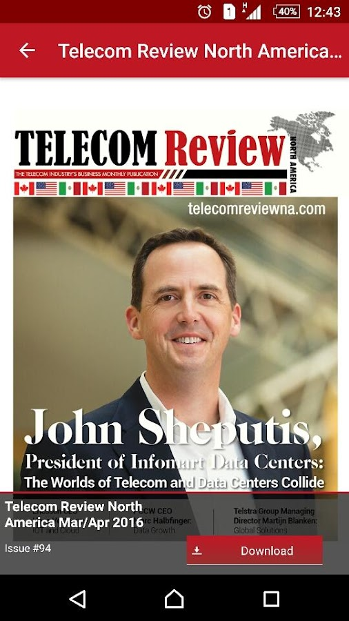 Telecom Review North America- screenshot