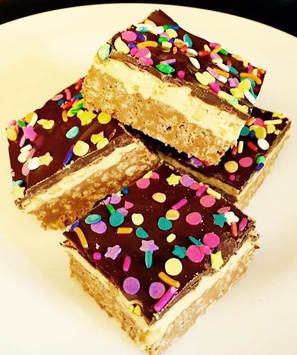 Peanut Butter Crispy Nougat Bars By Nor Recipe