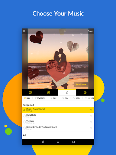 MoShow - Slideshow Maker, Photo & Video Editor 2.5.0.0 screenshots 13