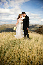 Photo: Ski hill wedding