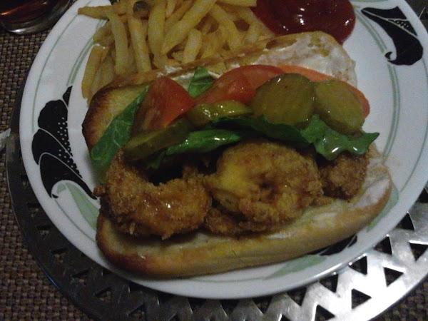 Creole Style Shrimp Loaves Recipe
