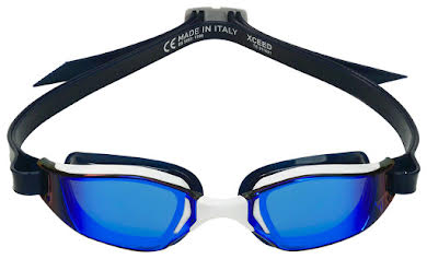 Michael Phelps Xceed Goggles - White/Black with Blue Titanium Mirror Lens alternate image 1