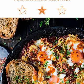 Eggs in Purgatory with Spaghetti Squash.