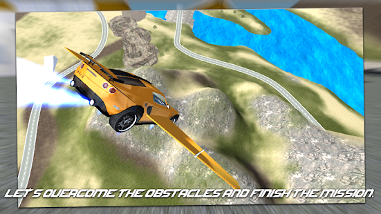 Flying Super Car 2020- screenshot thumbnail