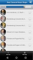 Screenshot of Best Classical Music Ringtones