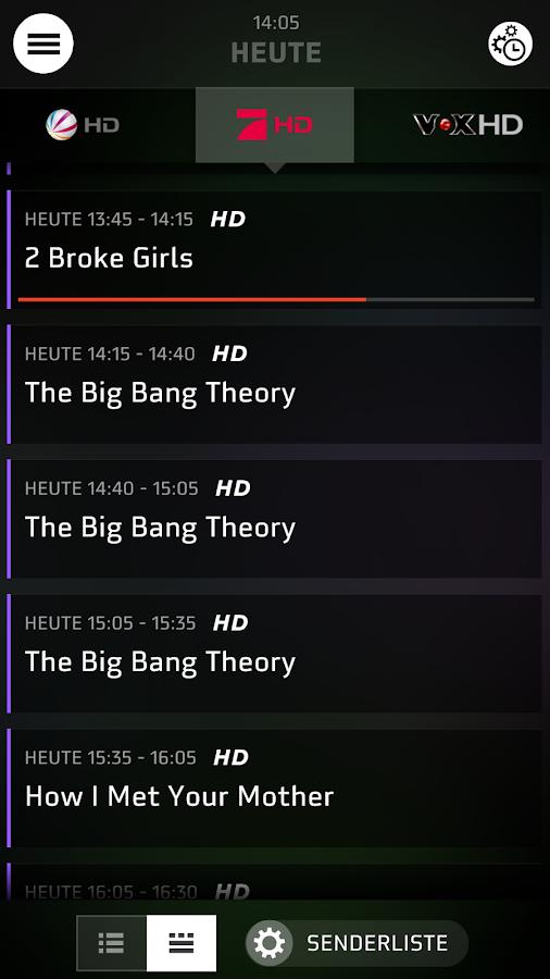 HD+ TV-Programm Guide - screenshot