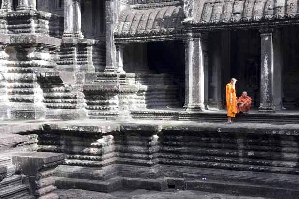 Tuk tuk ride in Siem Reap