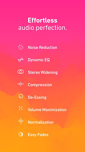 Dolby On: Record Audio & Music 1.0.1 screenshots 2