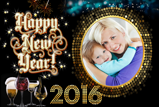 New Year Photo Frames HD