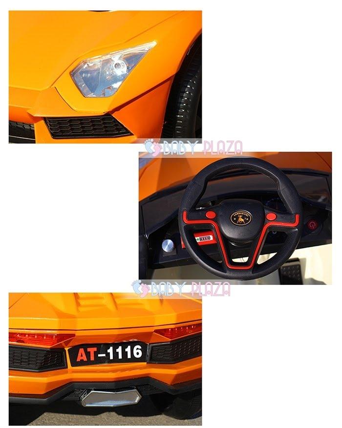 Xe hơi điện thể thao cho bé AT-1116 4