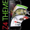 Z4 Launcher et le thème icon