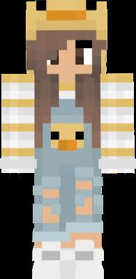 Duck Girl Nova Skin