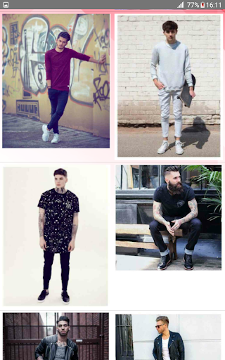 Street Fashion Men Swag Style 1.0 screenshots 6