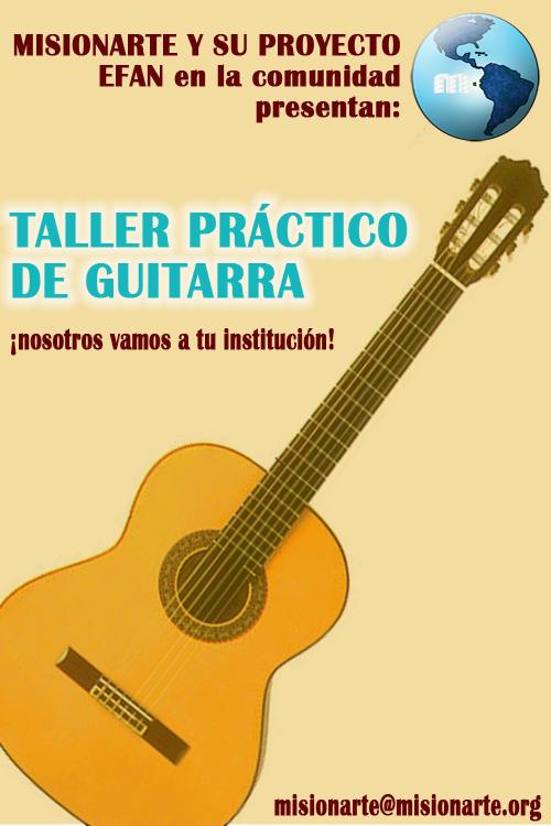 Taller practico de guitarra