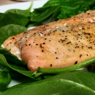 Baked Salmon.