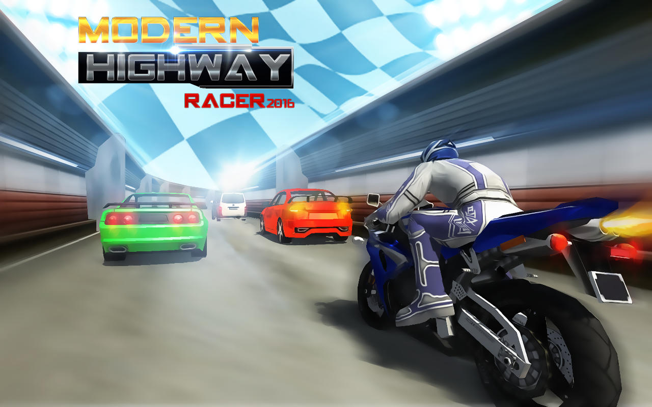 Modern Highway Racer 2015- screenshot