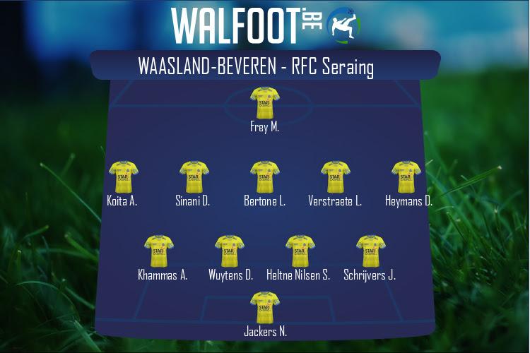 Waasland-Beveren (Waasland-Beveren - RFC Seraing)