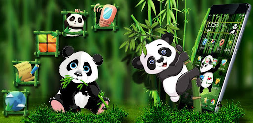 Unduh 900+ Wallpaper Animasi Panda Bergerak HD