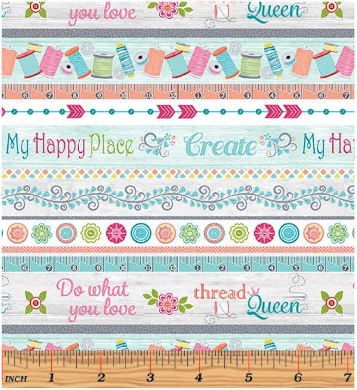 My Happy Place Stripe Multi (11231)