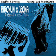 Photo: HIROYUKI & レオナ CDジャケット試作 「Rhythm & Pomshu」