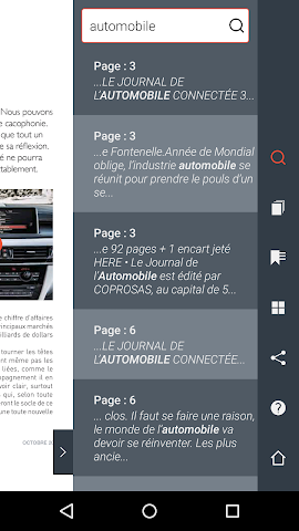 all about le journal de l 39 automobile for android videos screenshots reviews and similar apps. Black Bedroom Furniture Sets. Home Design Ideas