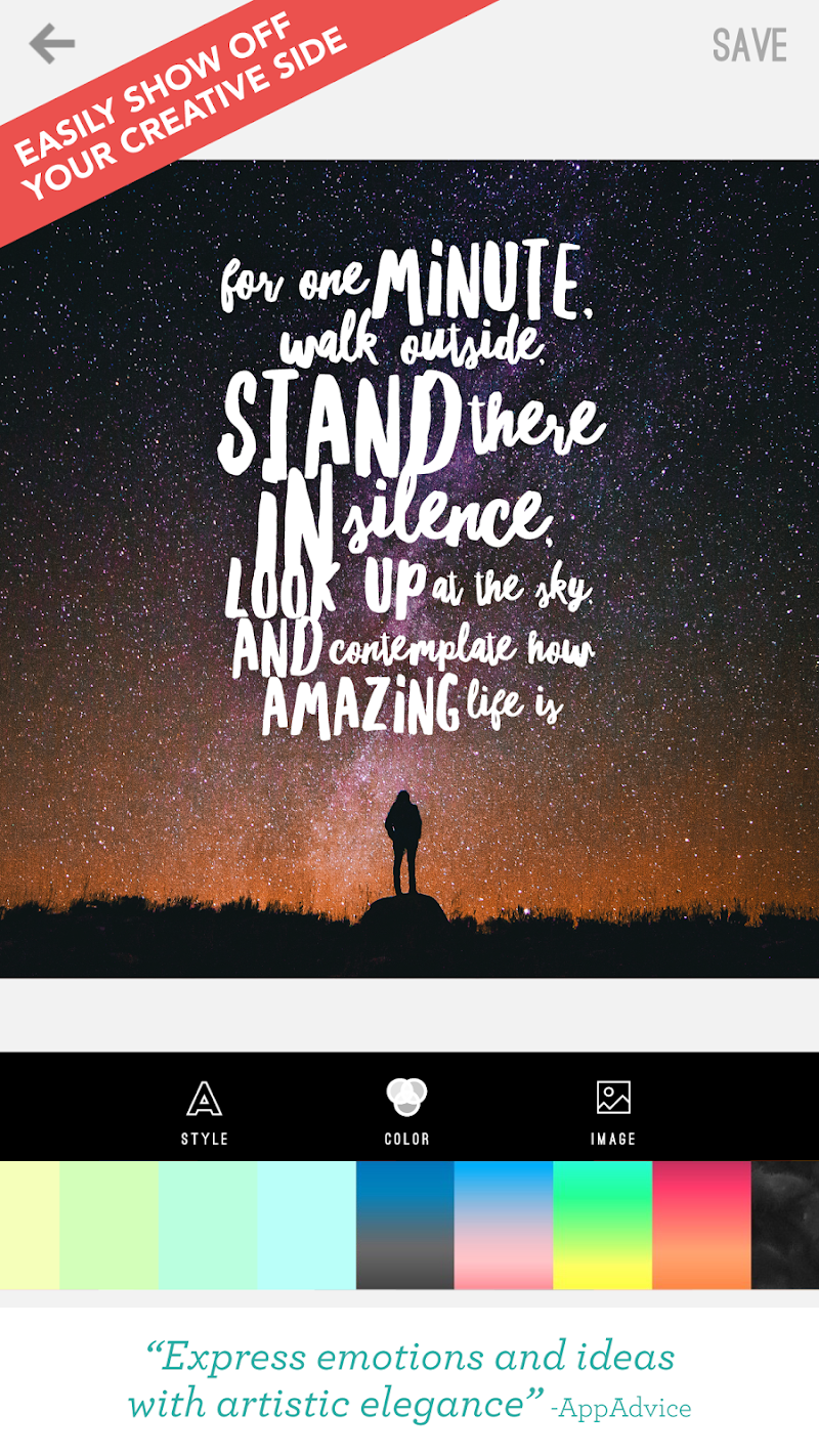 Word Swag - Cool fonts, quotes Screenshot 12