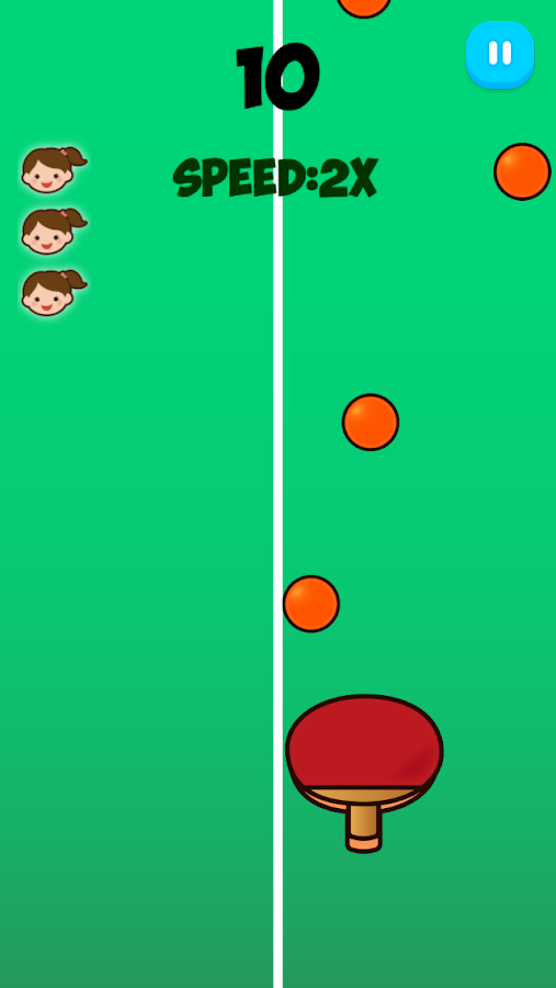 Ping Pong Shoot- screenshot