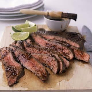Spicy Flank Steak.