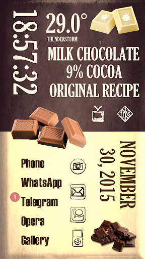 Chocolate for Total Launcher