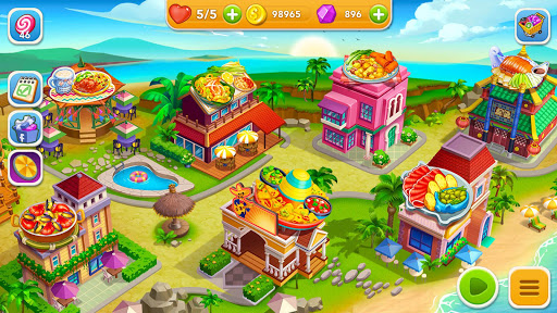 Cooking Frenzy: A Crazy Chef in Restaurant Games modavailable screenshots 1