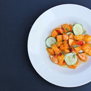 Thai Tomato Nectarine Salad.