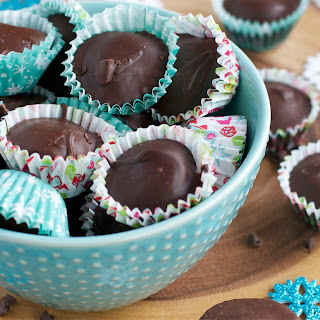 Chocolate Cookie Dough Cups.