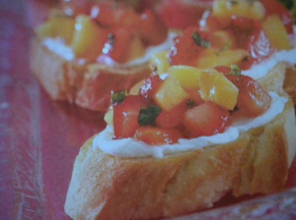 Berry Bruschetta Recipe