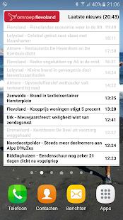 Omroep Flevoland Nieuws widget - náhled