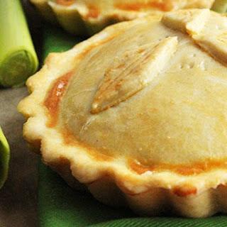 Traditional British Mini Chicken & Mushroom Pie