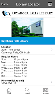 Cuyahoga Falls Library- screenshot thumbnail