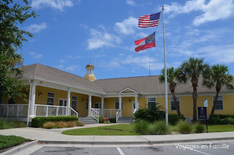 Jekyll island Visitor center