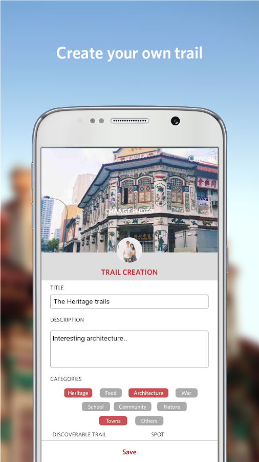 Singapore Heritage Trails- screenshot