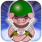 War Piggy: Jetpack Pig Warrior icon