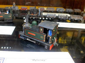Photo: 004 I didn't manage to get a decent photo of Martin Collins' model display, but did get an acceptable image of his Gem Varikit, Myfanwy. Built onto the Minitrains F&C outside frame chassis, this is one of the best Varikits that I can remember seeing .